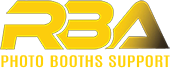 rba photo booths support logo