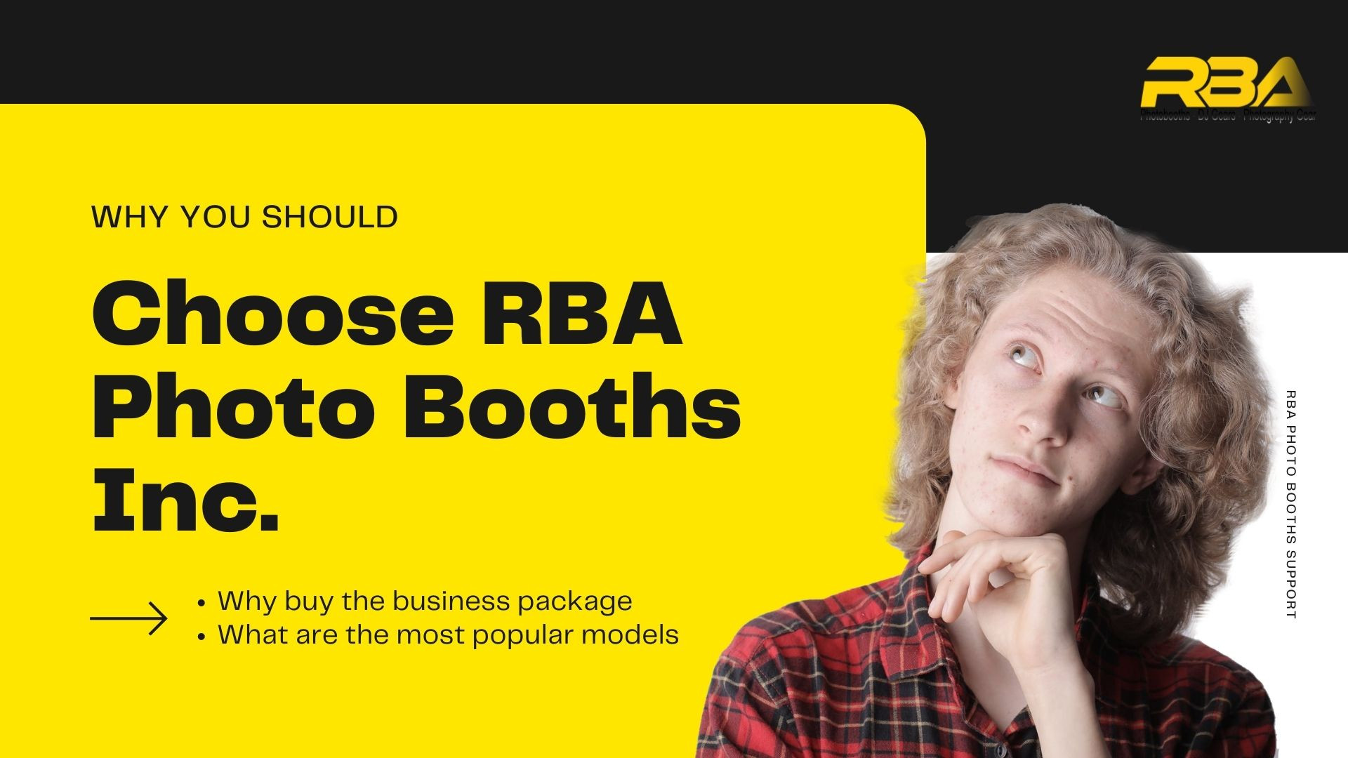 why buy a photo booth rba